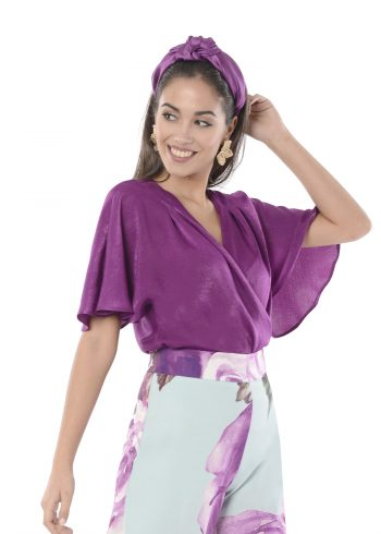 blusa atia purpura