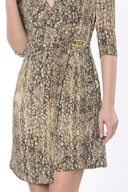 vestido corto isman