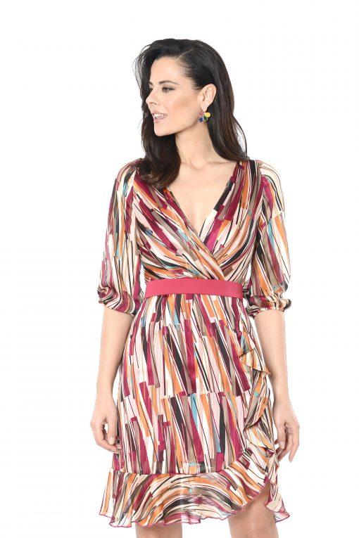 vestido corto lidia